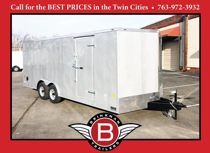 American Hauler 8.5x20 Enclosed Cargo Car Trailer -10000# GVWR!