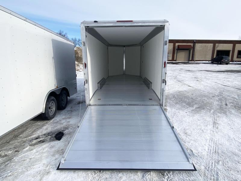 Aluma 7.5x20 Enclosed Aluminum Cargo Trailer - 7' Interior-UTV
