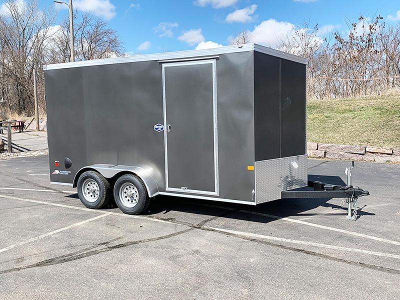 American Hauler 7x14 Enclosed Trailer - 7' Int. - Rear Ramp!