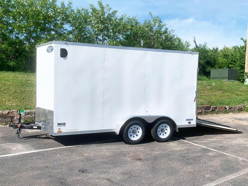 Continental 7x14 Enclosed Trailer - 7' Int. - Rear Ramp!