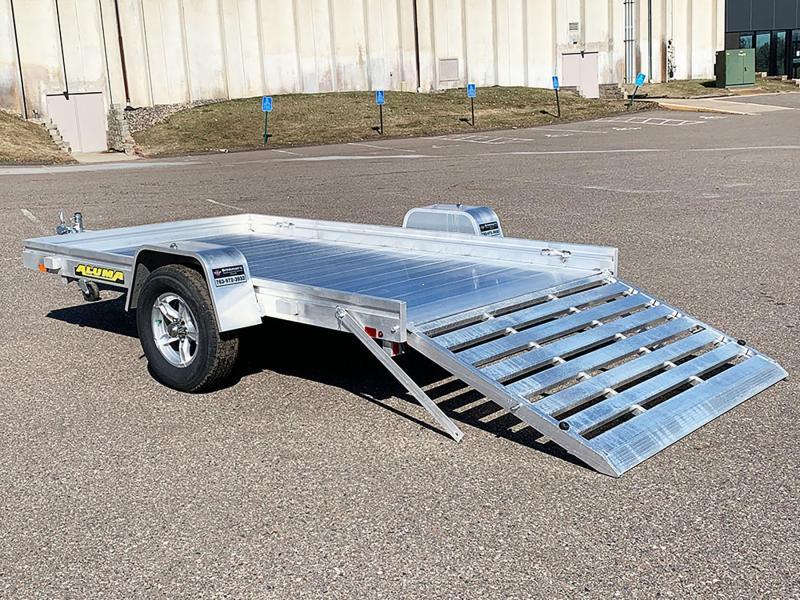 Aluma 7210H Aluminum Trailer - Full Rear Ramp!