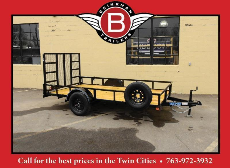 """Top Quality Top Hat 77"""" x 12' Utility Trailer w/ Ramp - GREAT VALUE"""