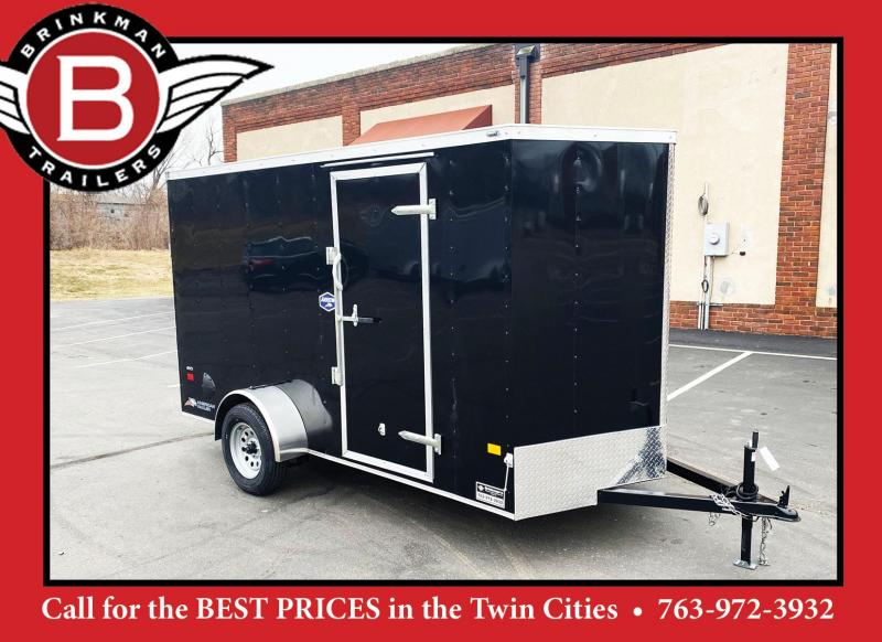 American Hauler 6x12 Cargo Enclosed Trailer -Rear Ramp - Quality!