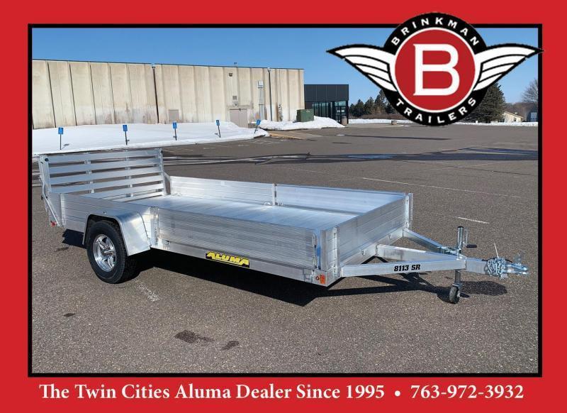 Aluma 8113SR Aluminum Utility Trailer - 2990# GVWR - ATV/UTV