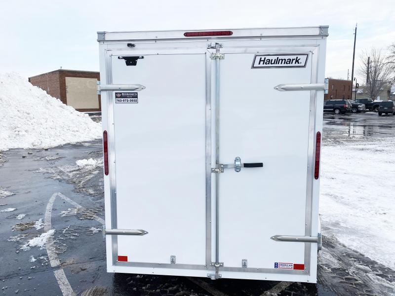 "Haulmark 6x10 Enclosed Trailer w/ DBL Doors - 6'6"" Interior - QUALITY"