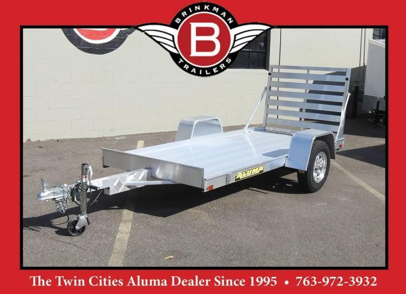 """Aluma 5410 54"""" x 10' Aluminum Utility Trailer - Fantastic Size!"""