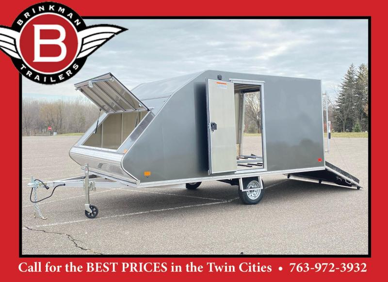 2021 High Country 8.5x13 Enclosed Aluminum Snowmobile Trailer