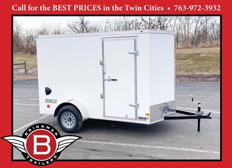 "Haulmark 6x10 Enclosed Trailer 6'6"" Interior - Ramp Door- SALE!"