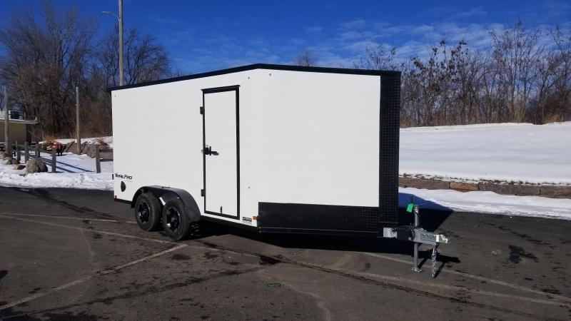 Formula 7x19 (14'+5'V) Aluminum Enclosed Snowmobile Trailer
