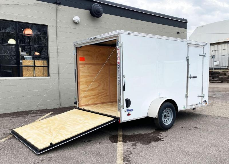 Continental Cargo 6.5x12 Enclosed Trailer - Rear Ramp!