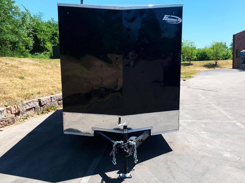 Formula 7x16 Traverse Enclosed UTV Trailer - 7' Int. - Rear Ramp!