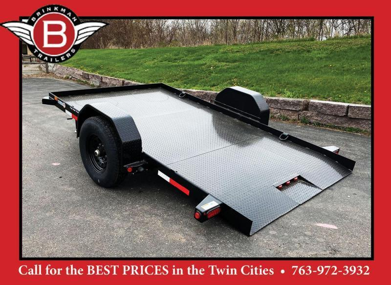 Heavy Duty Top Hat 80x12 Utility Tilt Bed - 7,000# GVWR!
