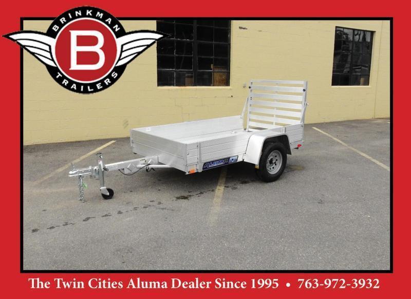 """Aluma 548 -54""""x8' Aluminum Utility Trailer w/ 12"""" Sides Included!"""
