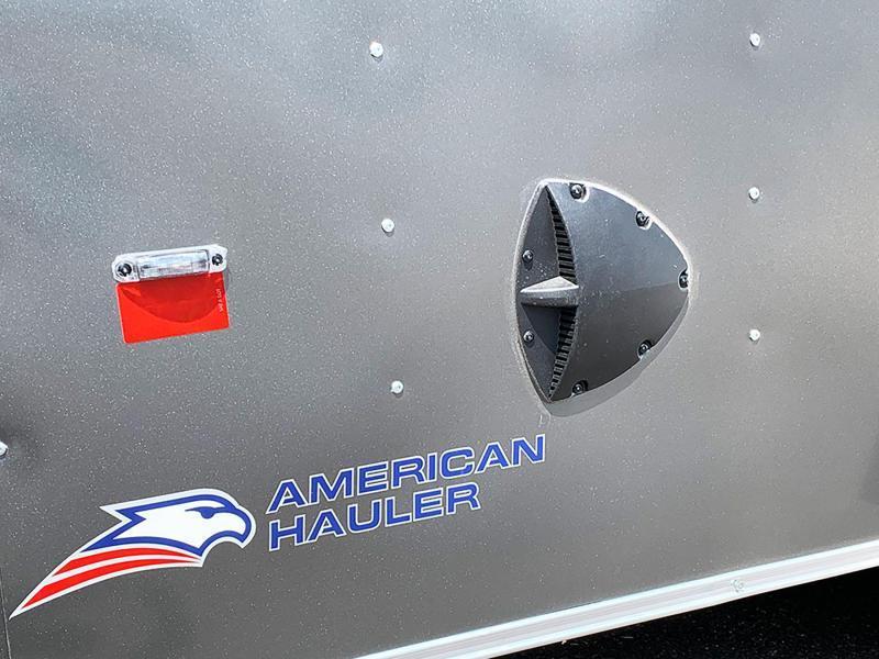 Deluxe American Hauler 7x16 Enclosed Trailer - 7' Int. - Rear Ramp!