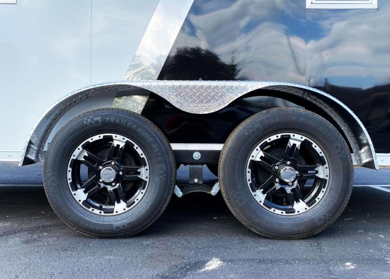 Deluxe Aluminum Formula 7x19 Trailpro UTV/Snowmobile Trailer!