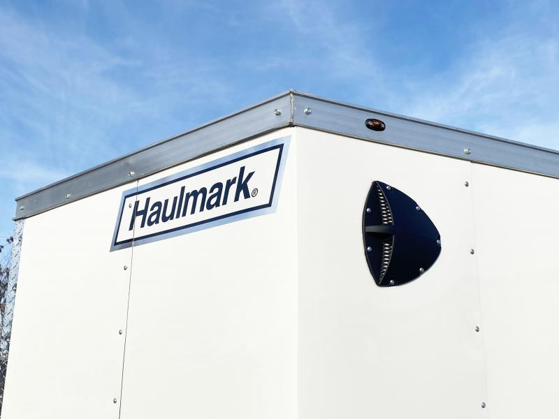 "Haulmark 7x16 Enclosed Trailer 6'6"" Interior-Ramp Door- HOT PRICE"