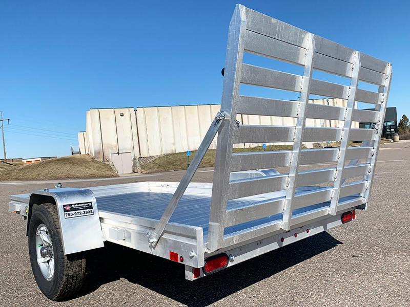 Aluma 7210H Aluminum Trailer - Full Rear Ramp!
