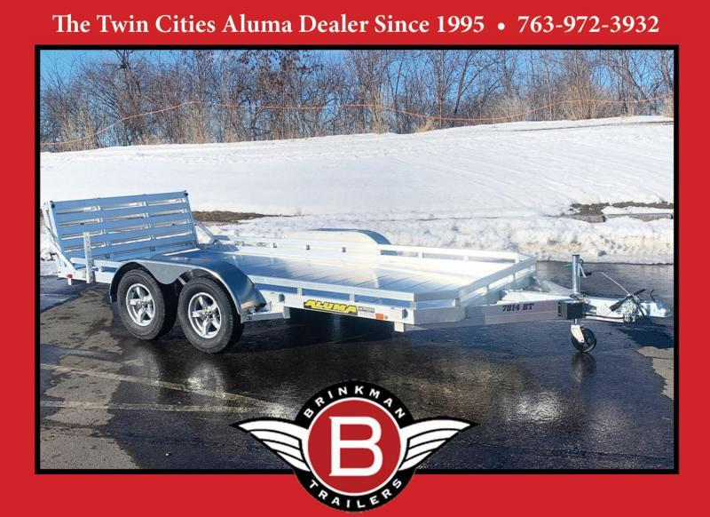 Aluma 7814TA Tandem Torsion Axle