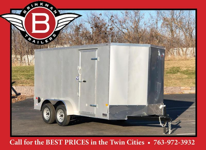 "American Hauler 7x14 Enclosed Trailer 6'6"" Interior - DBL DOOR - SALE!"