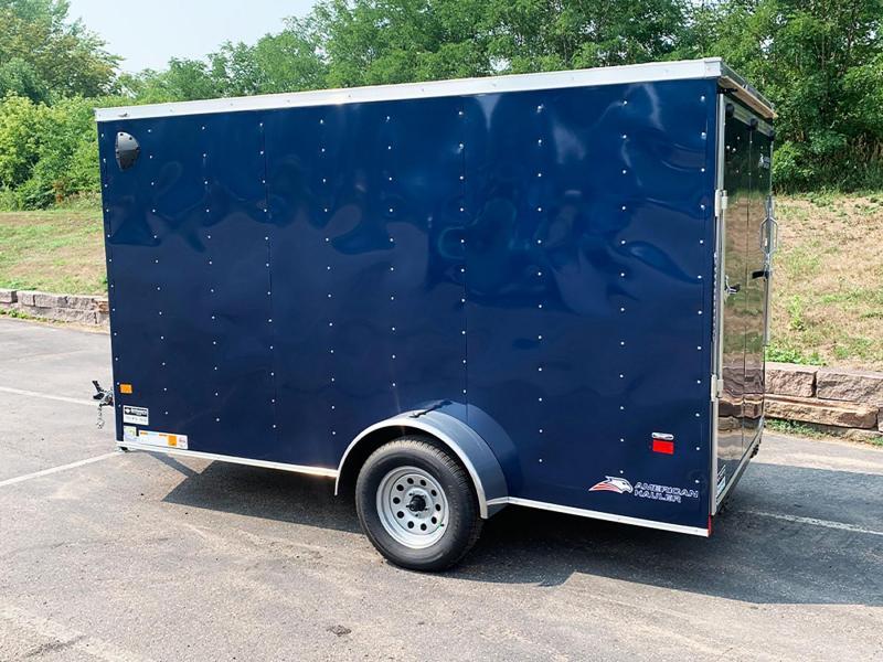 "Deluxe American Hauler 6x12 Enclosed Trailer - 6'6"" Int. - Rear Ramp!"