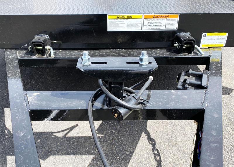 "Top Hat 80"" x 12' Heavy Duty Utility Tilt Bed - 5200# GVWR"