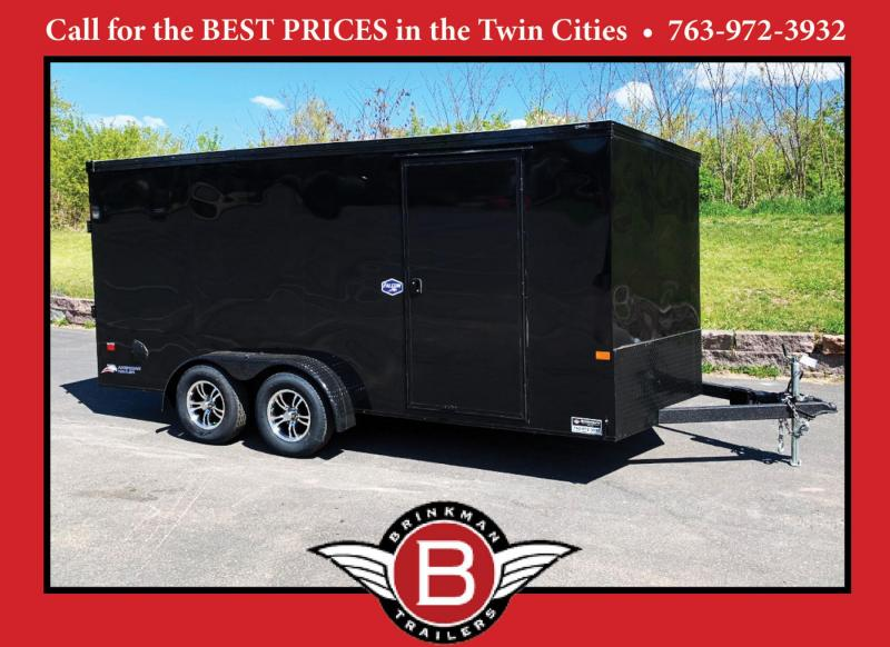 American Hauler Falcon 7x16 Enclosed Trailer - BLACK OUT PKG!