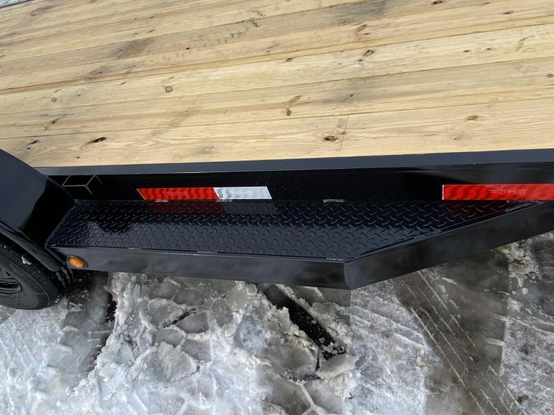 Top Quality Top Hat 83x20 Open Car Eqipment Trailer - 10K GVWR