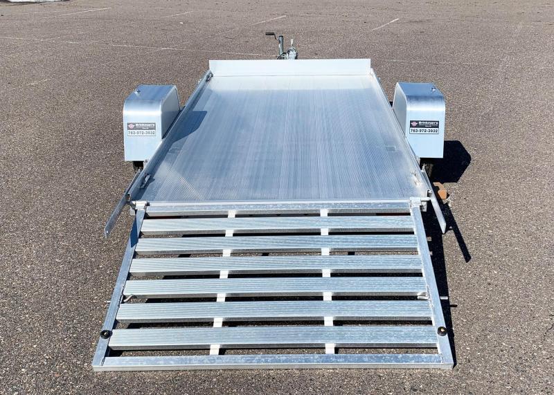Aluma 6310 Open Utility Trailer - Full Ramp - All Purpose!