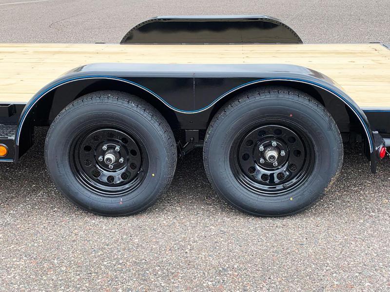 Top Quality Top Hat 83x18 Car/Equipment Hauler - Tuck Under Ramps!