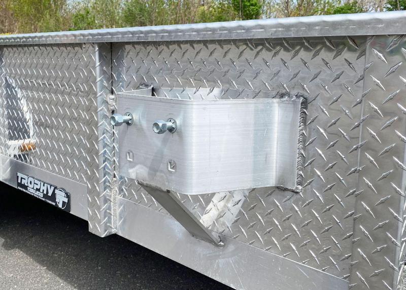 Quality Trophy 6.5x12 Aluminum Torsion Utility Trailer!