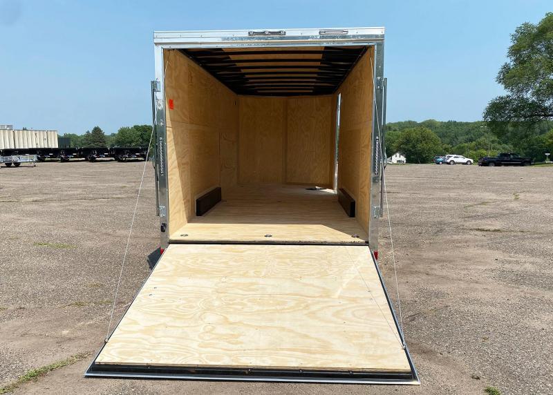 Continental Cargo 7.5x20 Enclosed UTV Trailer - 7' Int. - 9 D-Rings!