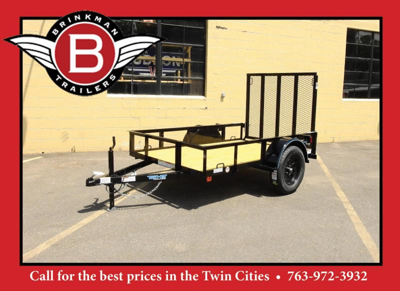 Top Quality Top Hat 5 x 8 Utitlity Trailer w/ Ramp -3500# Axle!