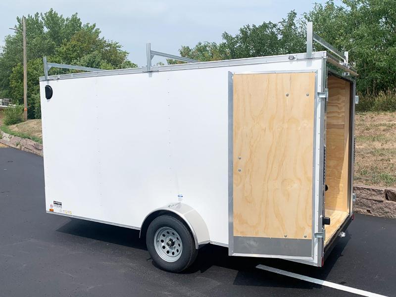 "Continental Cargo 6x14 Enclosed Trailer - 6'6"" Int. - Dbl Rear Doors!"