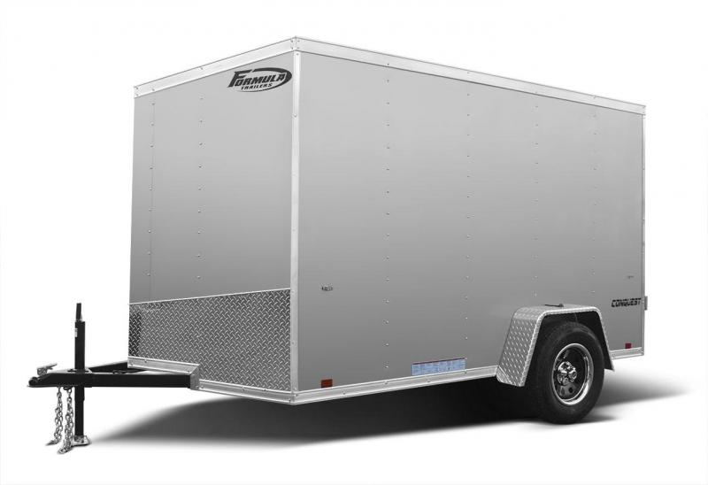 2021 Formula Trailers Conquest Cargo Slope Nose Cargo / Enclosed Trailer