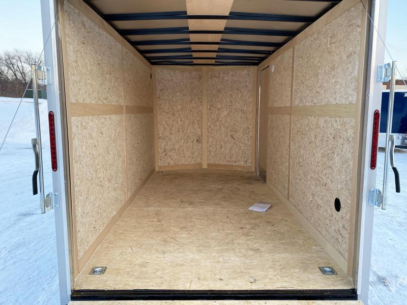 Haulmark 7x14 Enclosed Trailer with 7' Interior and Rear Ramp! UTV!