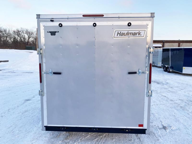Haulmark 7x14 Enclosed Trailer with 7' Interior and Rear Ramp! UTV!