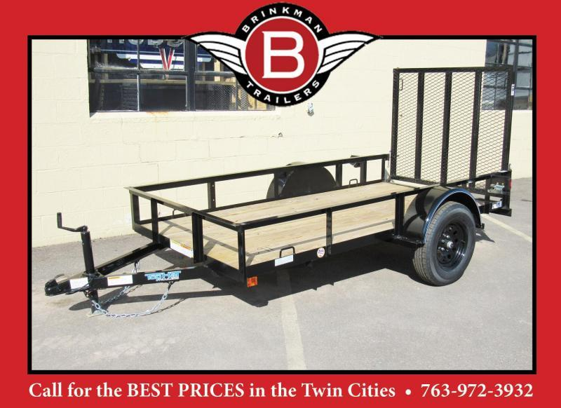 Heavy Duty Top Hat 5 x 10 Utitlity Trailer w/ Ramp -Best Buy!