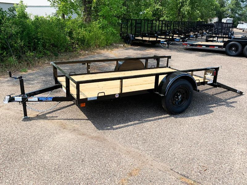 Top Quality Top Hat 5x10 Utility Trailer - Rear Ramp!