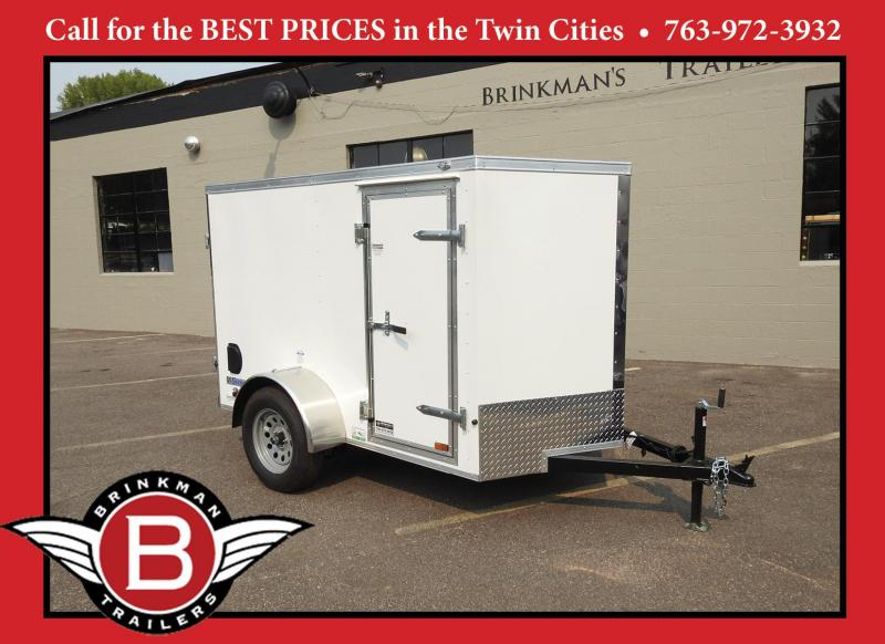 Continental Cargo 5x8 Enclosed Trailer w/ Side Door- Great Price!
