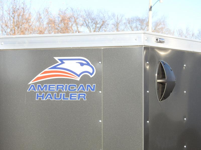 American Hauler 5x8 Enclosed Trailer - 3500# Axle! Great Value!