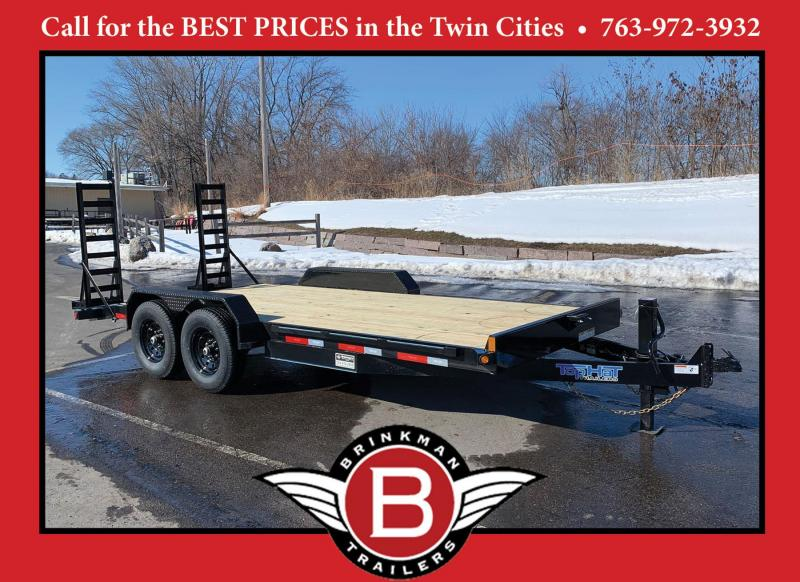 Top Hat 83 x 18 Car/Bobcat Hauler - 14,000# GVWR