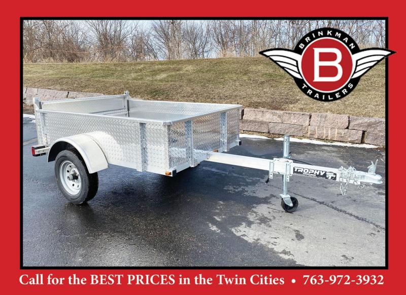 Trophy 4x6 Aluminum Utility Trailer w/Extended Tongue