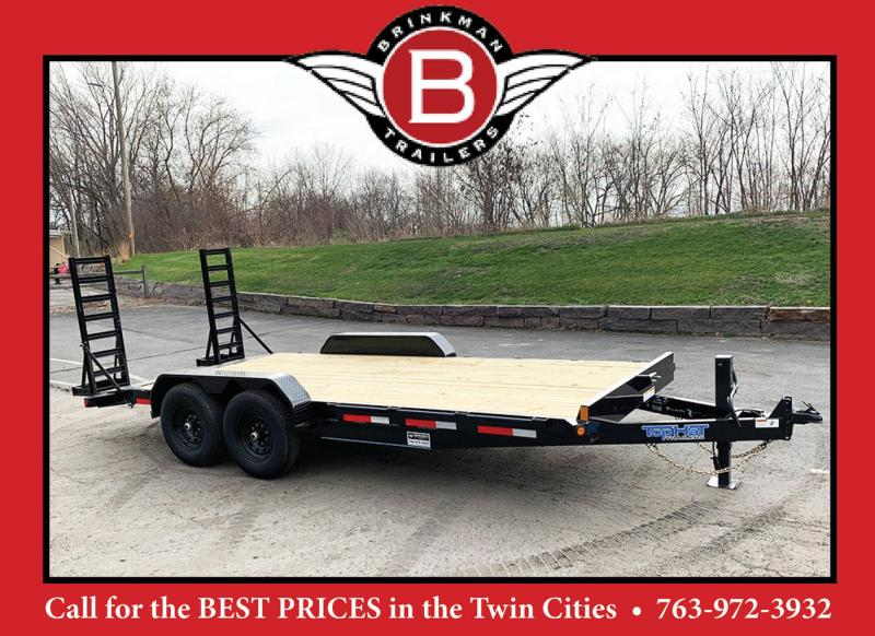 "Top Hat 83"" x 18' Car/Bobcat Hauler - 14000# GVWR"
