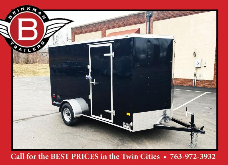 American Hauler 6x12 Enclosed Cargo Trailer - Ramp - Fantastic Buy!