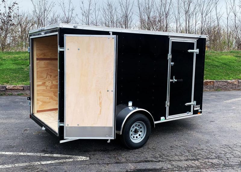 Continental 6x12 Enclosed Trailer - Dbl Rear Door!