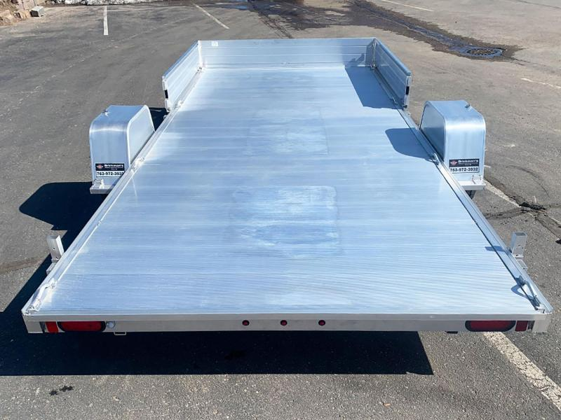Aluma 8115 S-R Aluminum ATV/UTV Trailer w/Side Loading Ramps!