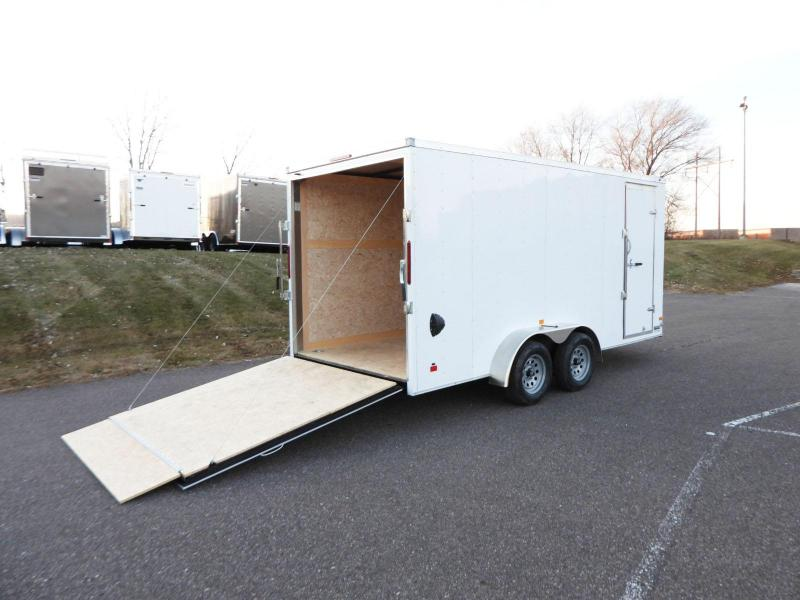 Haulmark 7x16 Enclosed Trailer - Rear Ramp - 7' Interior - UTV