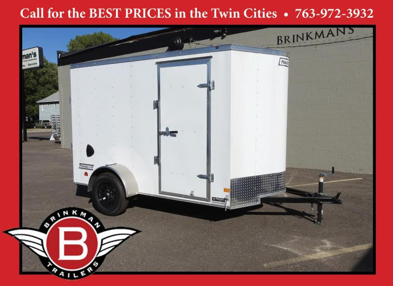 "Haulmark 6x10 Enclosed Trailer 6'6"" Interior-Ramp Door- HOT PRICE!!"