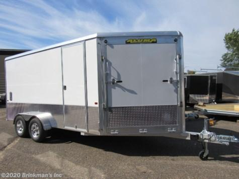 2020 Aluma 7x14 Enclosed Snowmobile Trailer