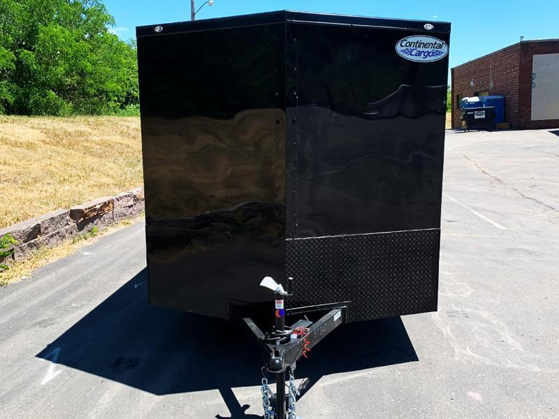 Continental Cargo 7x14 Enclosed Trailer - Black Out Package - 7000# GVWR!